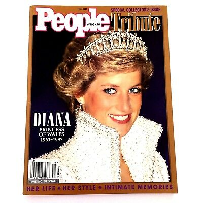 People Magazine Fall 1997 Diana Princess of Wales 1961-1997 Tribute Issue
