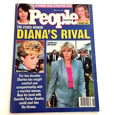 Princess Diana People Magazine June 29 1992 The Other Woman Diana's Rival