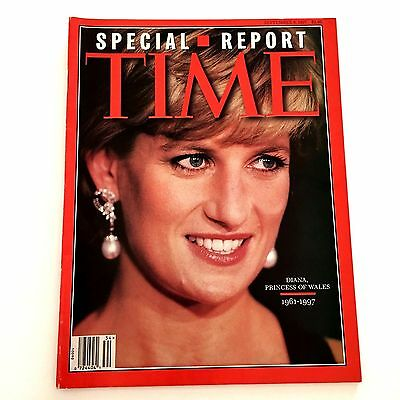Time Magazine Special Report Diana Princess of Wales 1961-1997