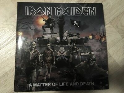 Iron Maiden - A matter of life and death 2-LP FOC Re-Release 2017
