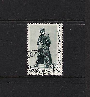 Yugoslavia 1952 Statue of Marshal Tito 50d Stamp