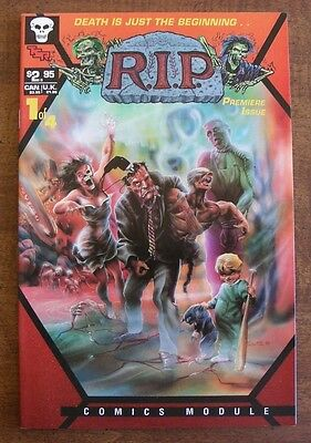 R.I.P. TSR Comics Module #1 VF Includes Game Battle for Smithville, Marv Wolfmam