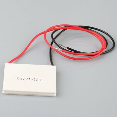 12V 60W 40*40mm Thermoelectric Power Generator Heatsink Peltier Module TEC1