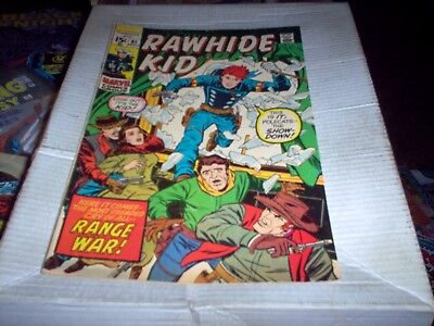 Rawhide Kid # 81 Lieber Art Range War Issue Look Fn+