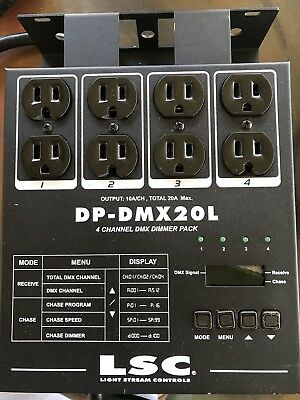 LSC 4 Channel DP-DMX20L Pre-Owned Dimmer Pack