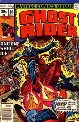 Ghost Rider (1st Series) #30 1978 FN Stock Image