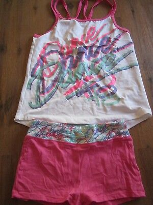 """Girls top and pants- """"DANCE"""" theme size 6-8"""