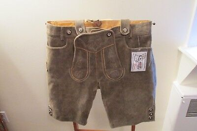 Authentic German Bavarian Oktoberfest  Lederhosen NWT