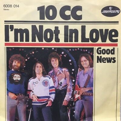 "10 CC - I'm Not In Love /  -   7"" Single Vinyl"