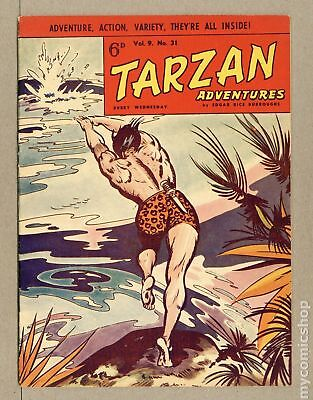 Tarzan Adventures (Westworld) UK #Vol. 9 #31 1959 VG/FN 5.0