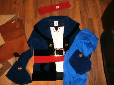 Disney Store Jake and the Never Land Pirates Costume size 7-8 worn once