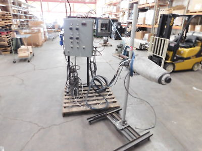 Used 3 piece electrostatic coater. RA-12ESCOATER