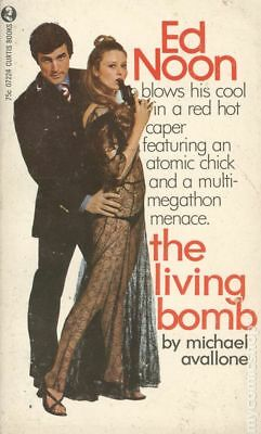 The Living Bomb by Michael Avallone Very Good 1963 Vintage Paperback