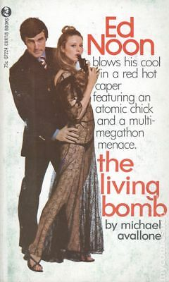The Living Bomb by Michael Avallone Very Good 1969 Vintage Paperback