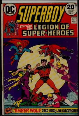 DC Comics SUPERBOY #197 Legion Of Super-Heroes FN- 5.5
