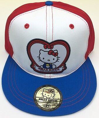 New HELLO KITTY 40th Anniversary Ball Cap Hat Strap Back Sport Adjustable NWT