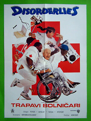 Disorderlies-Ralph Bellamy-Yugoslav Movie Poster 1987