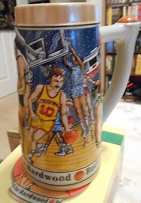 Budweiser Basketball Stein Heroes of the Hardwood Limited Edition