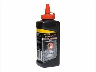 Stanley Tools FatMax RED Square Bottle Chalk Line  Powder Refill 225g  947821