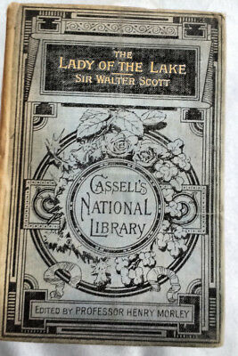 Cassells National Library-    The lady of the Lake by Sir Walter scott
