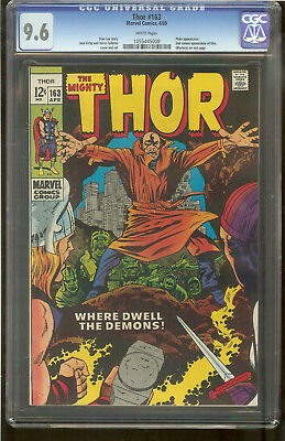 Thor 163 CGC 9.6 White Pages