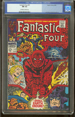 Fantastic Four 77 CGC 9.4 Silver Surfer, Galactus and Psycho-Man