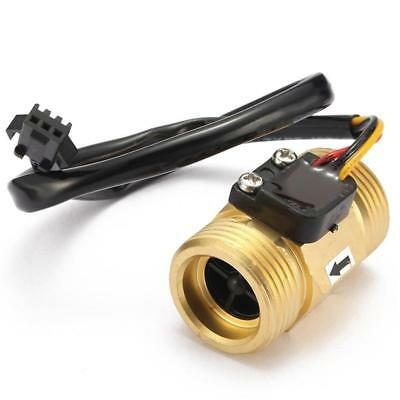 G3/4'' DN20 Copper Hall Effect Water Flow Sensor Switch Flow Meter