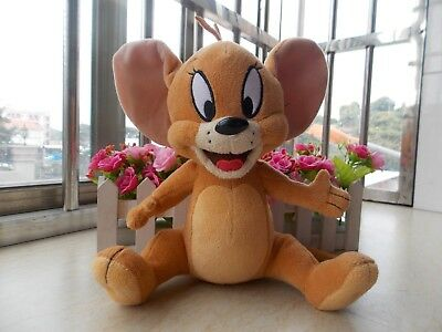 """New Collectibles Tom and Jerry """" Jerry"""" Mouse Plush Toys Cartoon"""