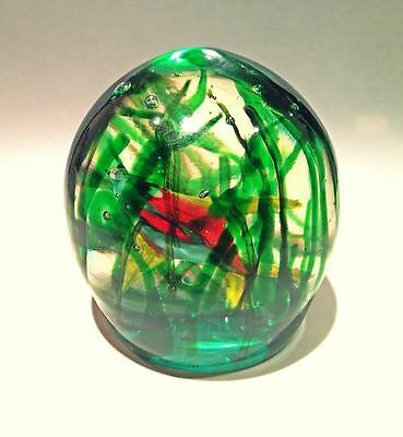 Rare Vintage Aquarium Art Glass Sculpture Fish Murano Barbini Cenedese