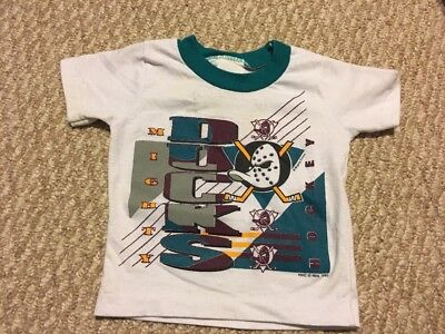 Kids Baby Youth D12 Mighty Ducks Short Sleeve Shirt From 1993 18 Months
