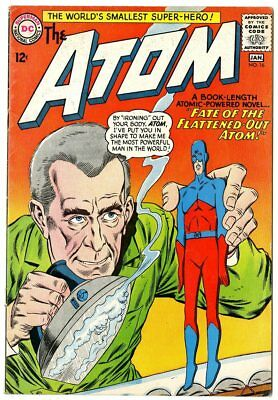 Atom #16 VG+ 4.5 ow/white pages  DC  1965  No Reserve