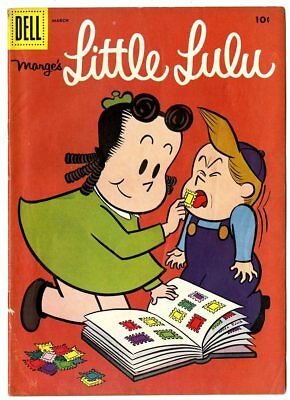 Little Lulu #105 VF- 7.5 off-white pages  Dell  1957  No Reserve