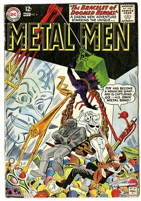 Metal Men #4 VG 4.0 off-white pages  DC  1963  No Reserve