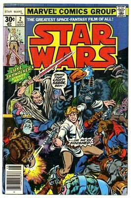 Star Wars #2 NM- 9.2 ow/white pages  Marvel  1977  No Reserve