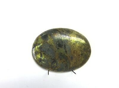 Chalcopyrit Cabochon 41,3x31 mm 63 ct. U20011