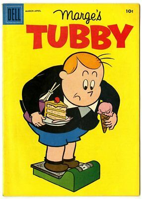 Tubby #21 VF/NM 9.0  Marge  Dell  1957  No Reserve