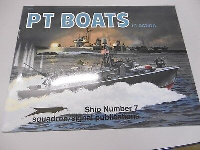 """Squadron Signal ship  No 7   """" PT Boats in action """""""