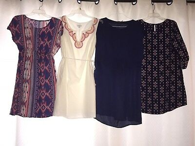Summer Brand Name Maternity Dresses Lot Size Medium