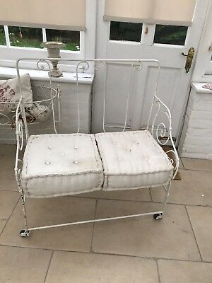 Antique french day bed chair