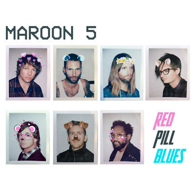 Maroon 5 CD Red Pill Blues Brand New 2017