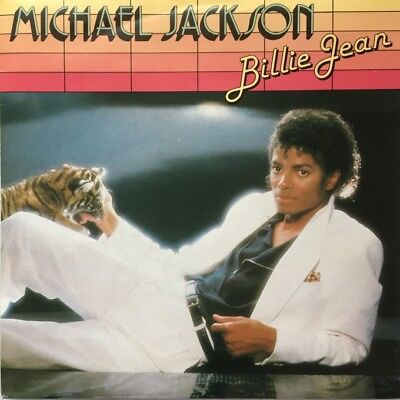 "Michael Jackson - Billie Jean /  -   7"" Single Vinyl"