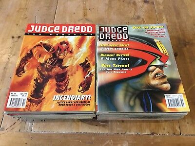 Judge Dredd- The Megazine. Complete Run Vol 2 Is 1-50