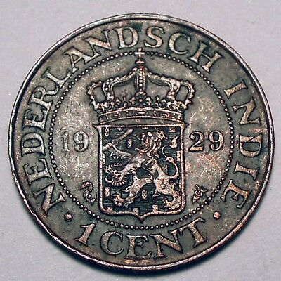 Netherlands East Indies 1 Cent 1929