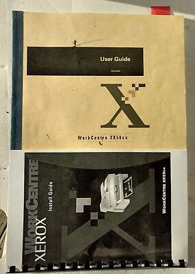 XEROX WorkCentre Work Center XK50cx Printer Copier User and Install Guide Manual