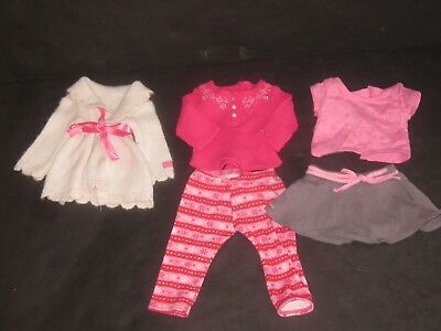 American Girl Doll Clothes Pink Outfits Lot Authentic Tagged