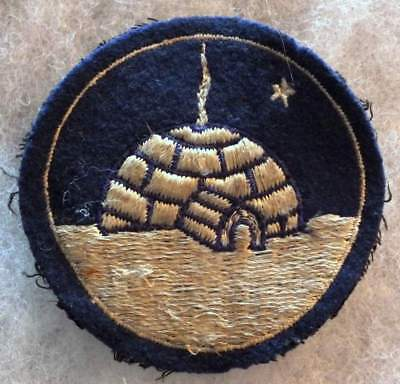 WW2 Exercise Eskimo USAAC patch on wool scarce