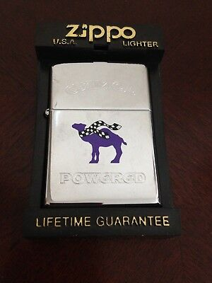 Collectible 1996 Camel Powered  Zippo Lighter  L Xii New Old Stock Unfired