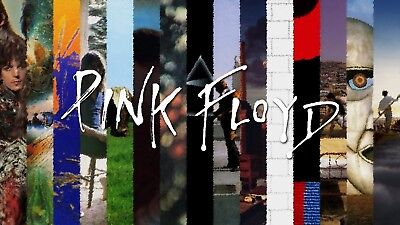 Pink Floyd - Iconic Rock Music Album Covers Large Poster / Canvas Picture Prints