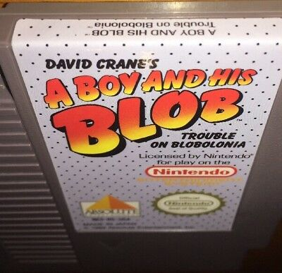 A Boy And His Blob Trouble On Blobolonia For Nintendo NES