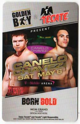 MGM GRAND casino*Canelo vs Chavez  born bold*Las Vegas hotel key card*fast ship!